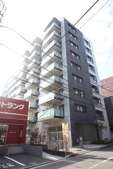 プラウドフラット横浜 9階の外観