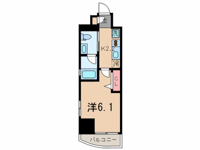 プラウドフラット新大塚 7階の間取り