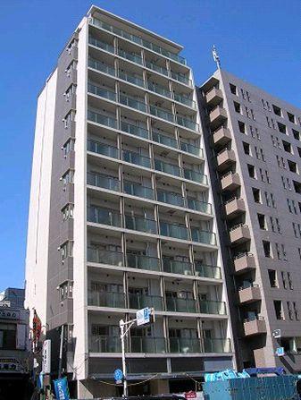 マイプレジール広尾 4階の外観